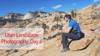 Large Format Landscape Photography in Utah: Day 6