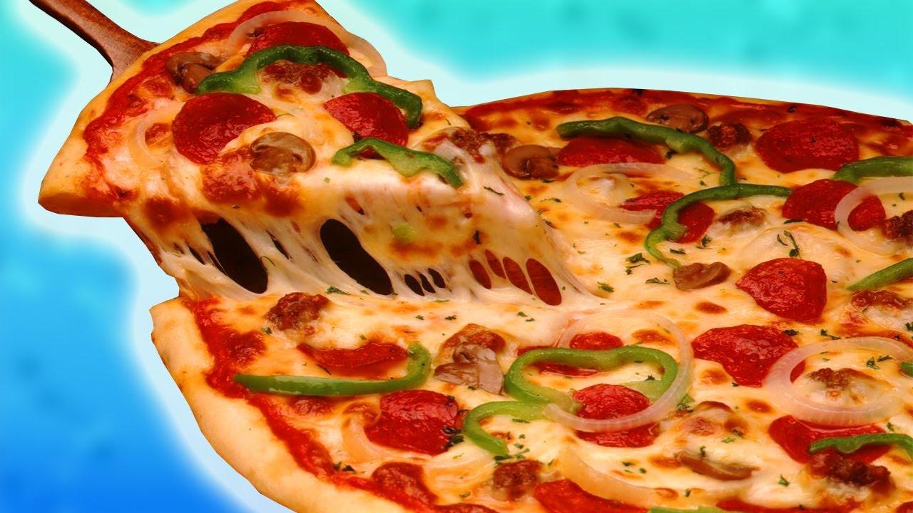 Как сделать дома простую пиццу