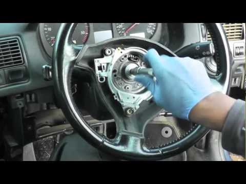 Volkswagen Golf Jetta Steering Wheel & Airbag Removal