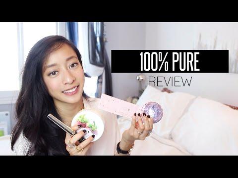 REVIEW | 100% PURE (All Natural, Organic, Vegan Makeup)