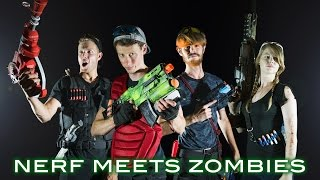 Nerf meets Call of Duty: ZOMBIES 2.0   Full Movie! (First Person in 4K!)