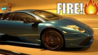 MY STRAIGHT PIPED LAMBORGHINI MURCIELAGO DESTROYS TUNNELS!!