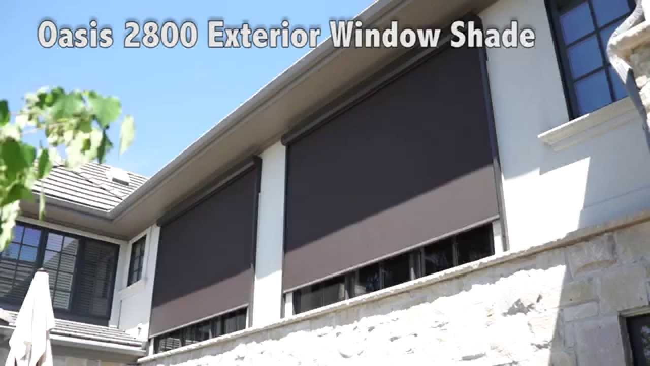 Seattle Exterior Solar Shades|Motorized|Automated