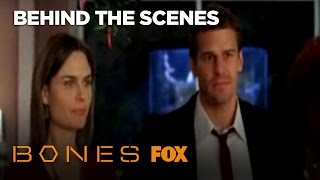 Behind The Scenes Of The Famous Bones & Booth Kiss | Season 3 | BONES