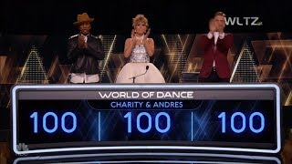 WORLD OF DANCE - CHARITY & ANDRES (PERFECT SCORE!)