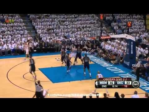 Memphis Grizzlies vs Oklahoma City Thunder   May 15, 2013   Game 5   Full Highlights   NBA Semis