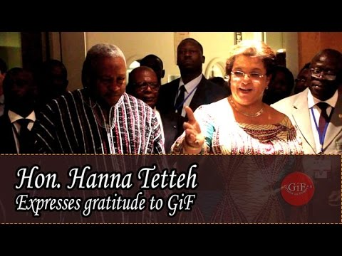 Hon. Hanna Tetteh expresses gratitude to Ghanaians in France