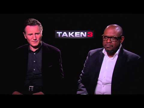 Liam Neeson & Forest Whitaker Interview - TAKEN 3 (2015) JoBo.com Exclusive HD