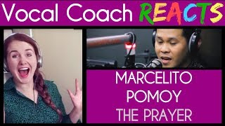Vocal Coach Reacts to Marcelito Pomoy The Prayer on Wish 107.5