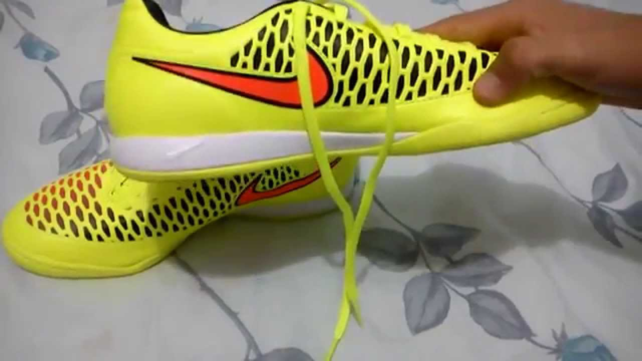 Nike Magista - Tenis guayos - Revision - YouTube