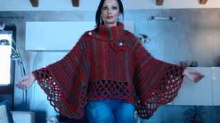 PONCHO MANTELLA CON SCALDACOLLO ALL