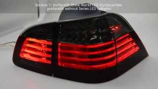 SWCelis LED Rückleuchten BMW 5er E61 Touring 04-10 red/smoke SW-Tuning
