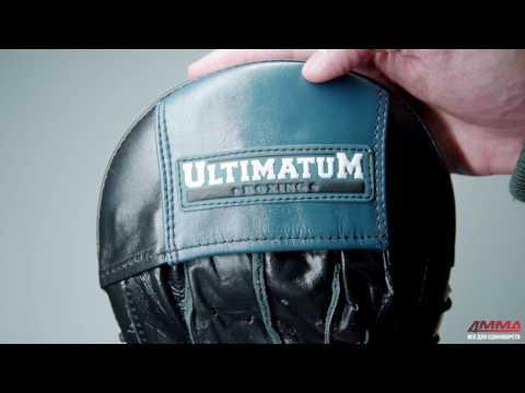 Фото:Лапы Ultimatum тренерские тактические