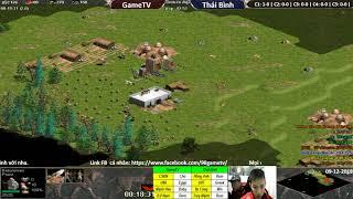 C1T2 | 4vs4 Random | GameTV vs Thái Bình | Ngày 9-12-2018