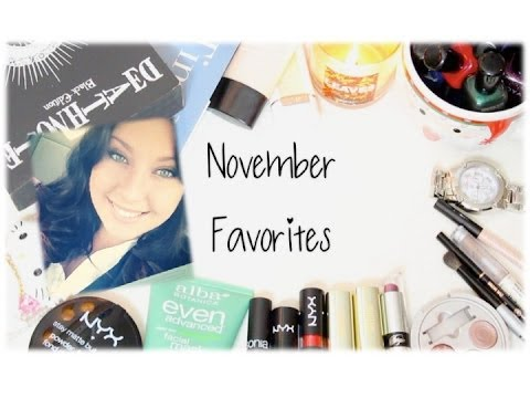 ♡ November Favorites ♡ Cruelty-Free [MAC Dupes Included!]