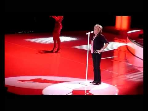 "Rod Stewart "" The First Cut is the Deepest"" Gold Coast 2012"