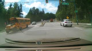 Car accident in Port Moody