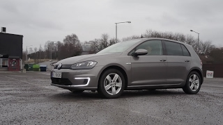 #36 Winter test of VW e-Golf 24 kWh part 1