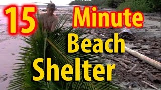 How To Make A Beach Hut Shelter In Less Than 20 Minutes