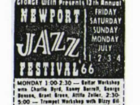 1966-Newport - Charlie Byrd (g) - Michelle - guitar workshop (audio)