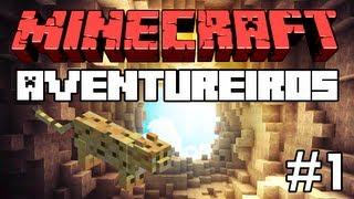"""Minecraft: Feromonas e os Aventureiros - Multiplayer #1 - """"Objetivos: Casa na Árvore e Ocelote"""""""