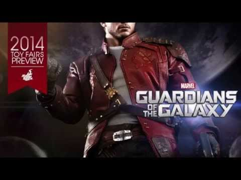 Guardians Of The Galaxy Hot Toys Star-Lord 1/6 Scale Movie Figure Teaser!