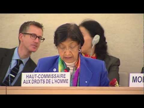 United Nations Human Rights Council panel discussion on human rights and LGBT people