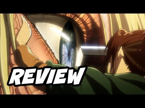 Attack on Titan Episode 24 進撃の巨人 Review - Eren Jaeger VS Female Titan Shingeki No Kyojin
