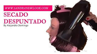 Secado puntas en movimiento (Brushing natural)