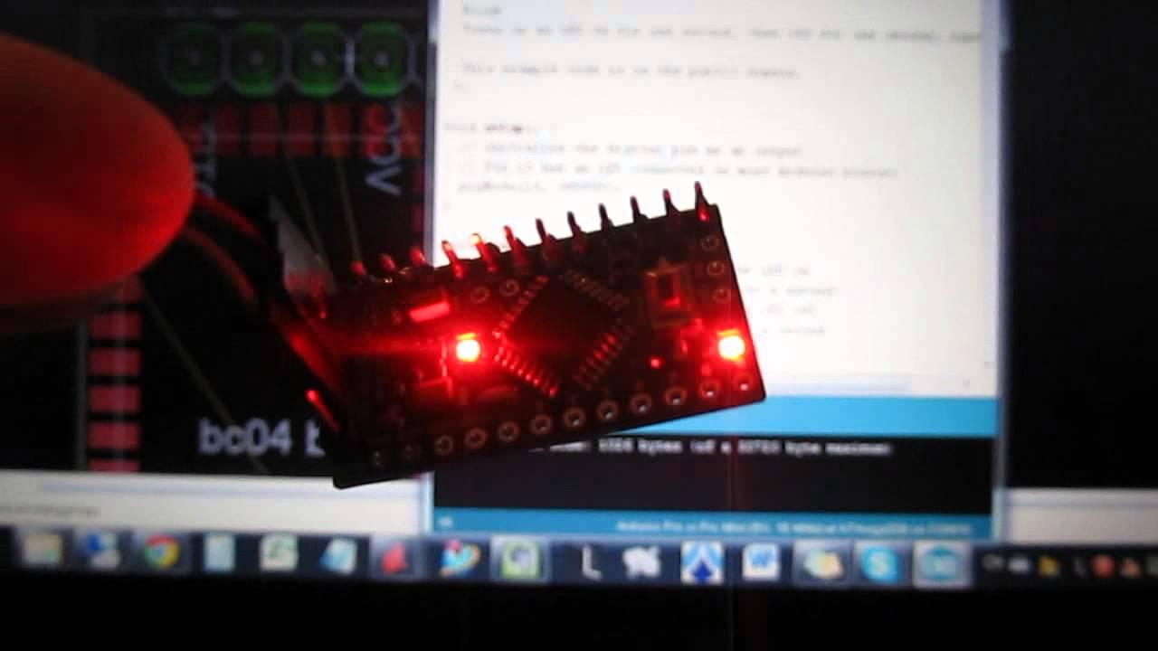 Upload sketch to arduino pro mini use pl programmer