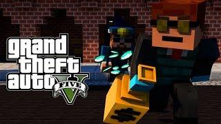 """BANK ROBBERY"" Minecraft GTA 5 | Grand Theft Auto 5 Mod Ep 21! (GTA 5)"