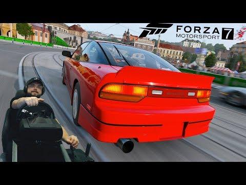 Неравная схватка с реактивным Mitsubishi Eclipse GSX из Форсажа | Forza Motorsport 7