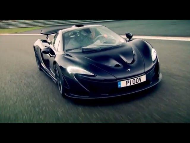 McLaren P1: The Widowmaker! - Top Gear - Series 21 - YouTube
