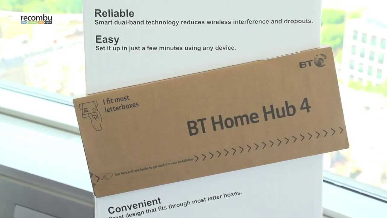 Bt Home Hub 4 Hands On Video Youtube