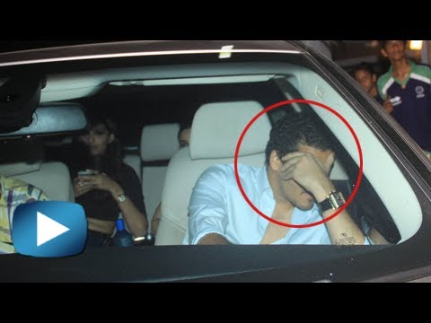 Sonam Kapoor's Boyfriend Hides His Face From Media - Must Watch video
