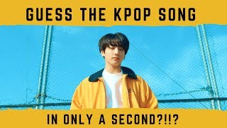 Download Lagu GUESS THE KPOP SONG IN 1 SECOND?!?? (HARD) Gratis STAFABAND