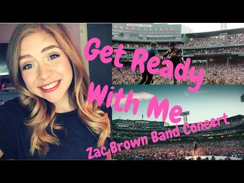 I Won Taylor Swift Tickets!?!: Get Ready with Me Zac Brown Band Concert