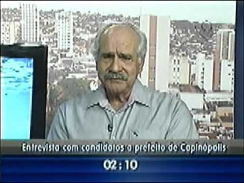 Entrevista com o candidato a prefeito de Capinópolis Lucimar Batista Belchior