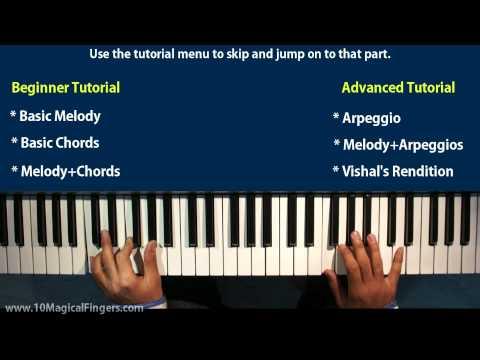 Tujh Mein Rab Dikhta Hain  Piano Tutorial / Lessons | Beginner & Advanced Piano Tutorial