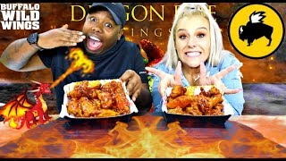 BDUBS *NEW* DRAGON FIRE WINGS CHALLENGE (GAME OF THRONES)🔥🥵🌶️