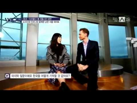 SNSD Tiffany & Tom Hiddleston