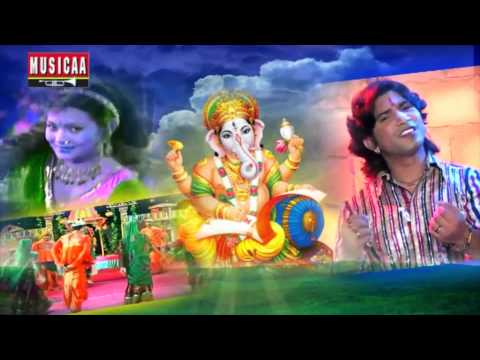 Ganesh Chaturti Special Video Song | Ganpati Gujarati Songs By Vikram Thakor Hd video