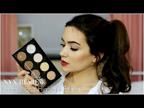 NYX Contour and Highlight Review   TheMakeupChair