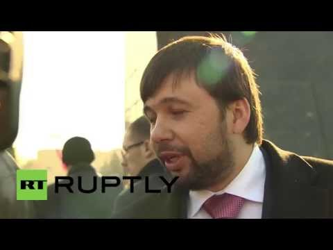 Ukraine: 'DPR intends to expand its boundaries by political means' - Pushilin