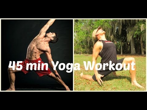 EPIC 45 minute Power Yoga Vinaya Class - Man Flow Yoga & Sean Vigue Fitness Image 1