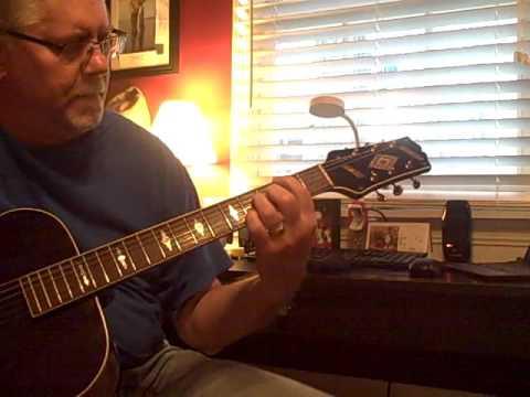Circa Mid 1930's Slingerland Nitehawk Archtop Guitar - Vintage Bliss!