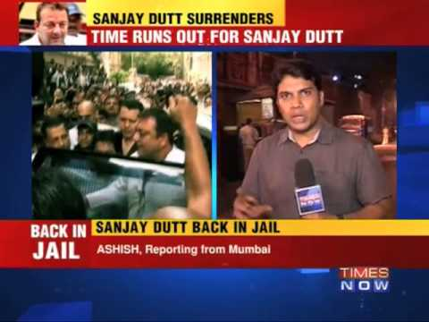 Sanjay Dutt at Arthur road jail
