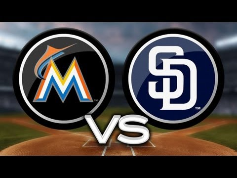 5/7/13: Venable's homer powers Padres past Marlins