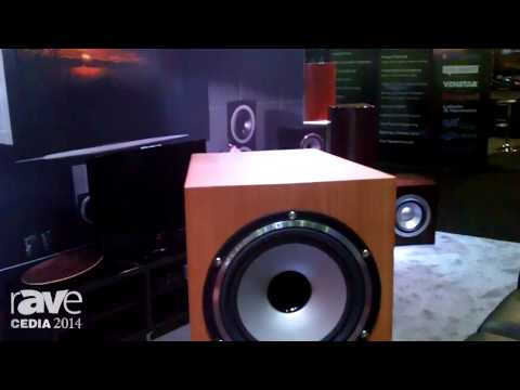 CEDIA 2014: Tannoy Shows their Compact Floor Standing Speaker