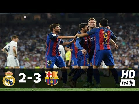 Real Madrid vs Barcelona 2-3 - All Goals & Extended Highlights 30/07/2017 HD